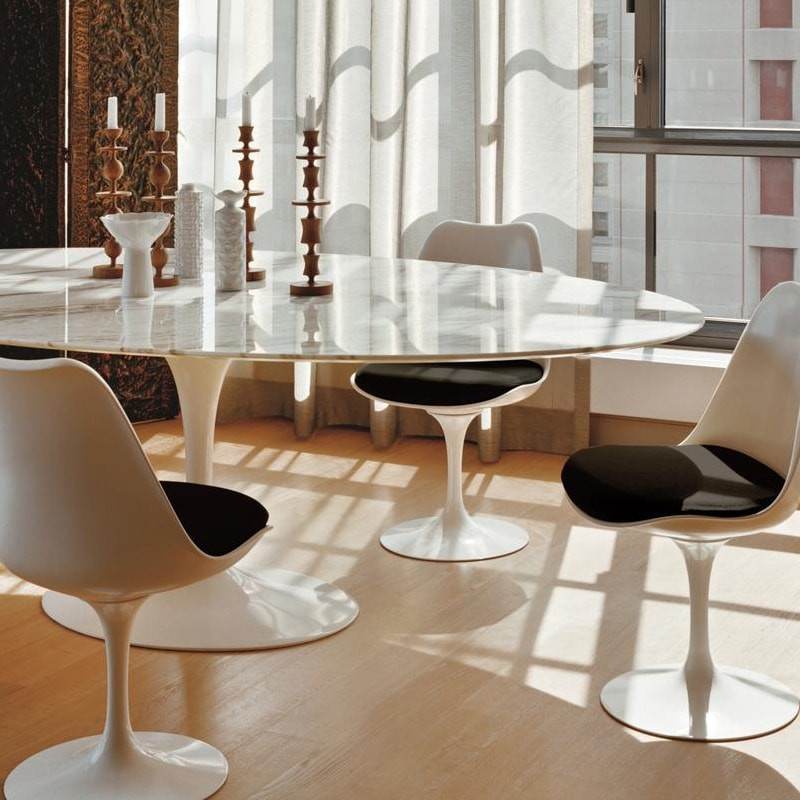 knoll saarinen tisch. Black Bedroom Furniture Sets. Home Design Ideas